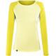 Salewa Pedroc Delta Dry - Camiseta de manga larga Mujer - amarillo